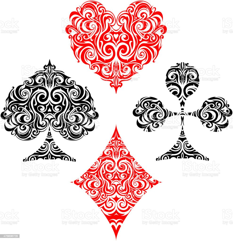 Playing Card Suit Designs
