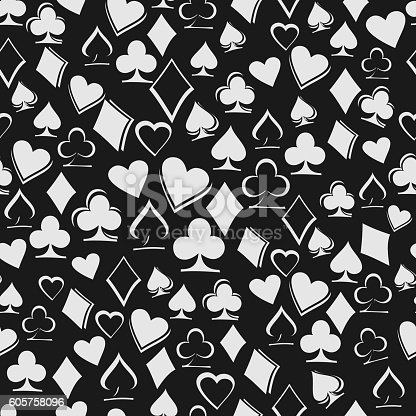 Gm Credit Card >> Playing Card Suits On Black Background Stock Vector Art ...
