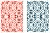 Playing cards back beta
