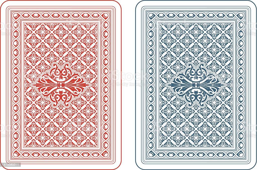 Kartenspiel Rückseite