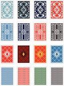 Playing Cards Back Design Set