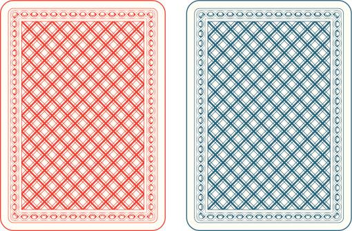 Playing cards back epsilon