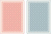 istock Playing cards back gamma 513360429
