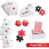 istock playing cards casino set realistic 3d 1201228593