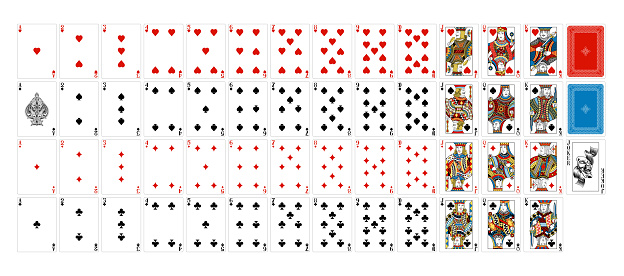 Playing Cards Deck Full Complete