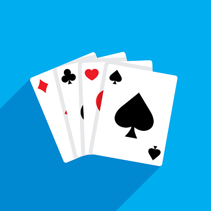 Playing Cards Flat