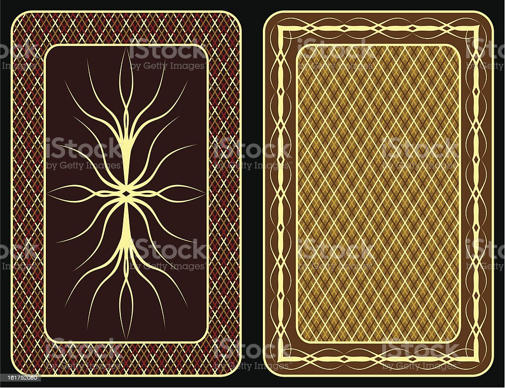 Playing cards. royalty-free stock vector art
