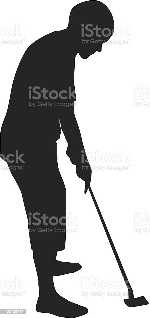 Playing golf royalty-free playing golf stock vector art & more images of ball
