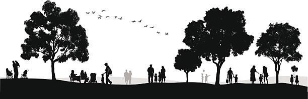 Pleasant Day vector art illustration
