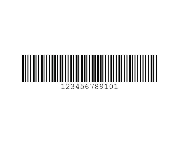 MSI Plessey Barcode Standards vector art illustration