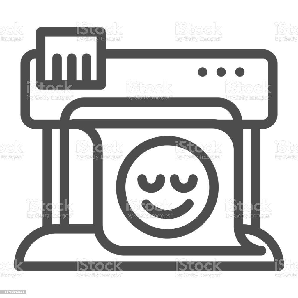 plotter line icon large format printer vector illustration isolated on white print machine outline style design designed for web and app eps 10 stock illustration download image now istock https www istockphoto com vector plotter line icon large format printer vector illustration isolated on white print gm1178325803 329296735