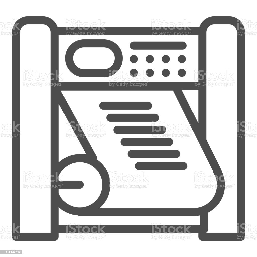 plotter printing line icon large format printer vector illustration isolated on white printing device outline style design designed for web and app eps 10 stock illustration download image now istock plotter printing line icon large format printer vector illustration isolated on white printing device outline style design designed for web and app eps 10 stock illustration download image now istock