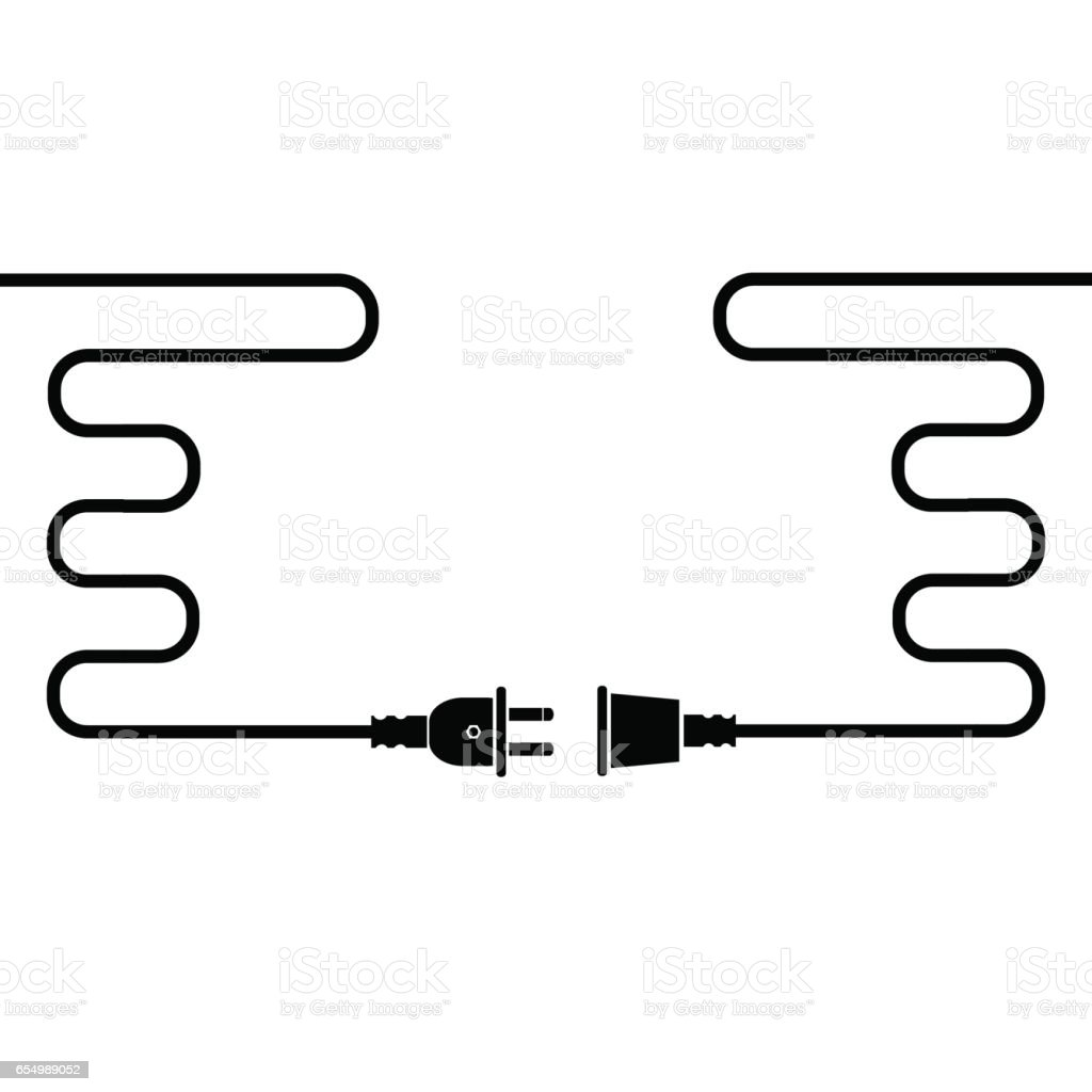 Plug and Socket royalty-free plug and socket stock illustration - download image now