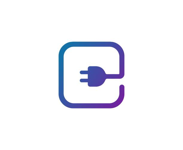 Plugin icon This illustration/vector you can use for any purpose related to your business. wired stock illustrations