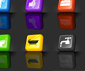 Plumber Web 2.0 internet icon set