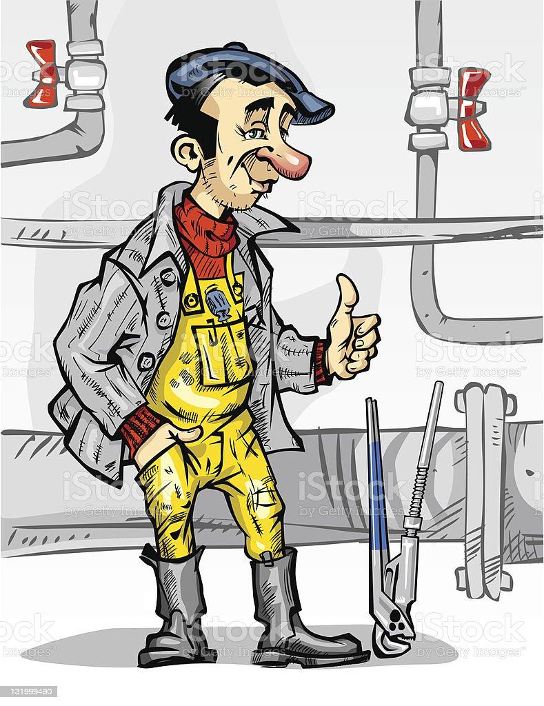 plumber_val_1 royalty-free stock vector art