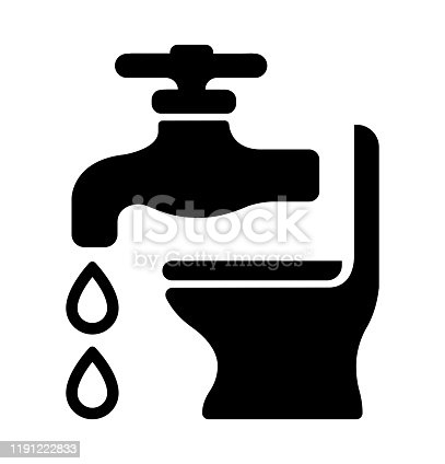 Plumbing, bathroom, water-related equipment icon