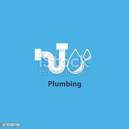 Pipes drain concept, repair works, facility installment