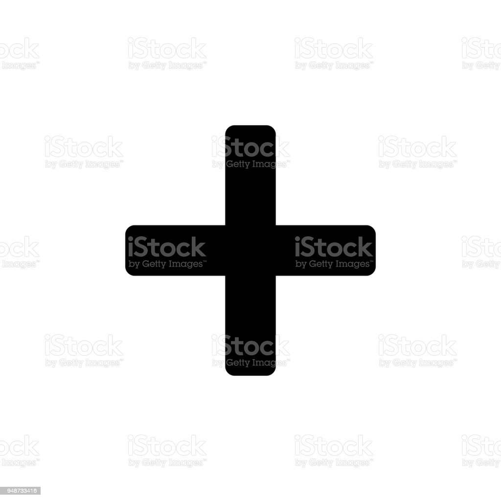 Plus Sign Icon Element Of Minimalistic Icon For Mobile Concept And