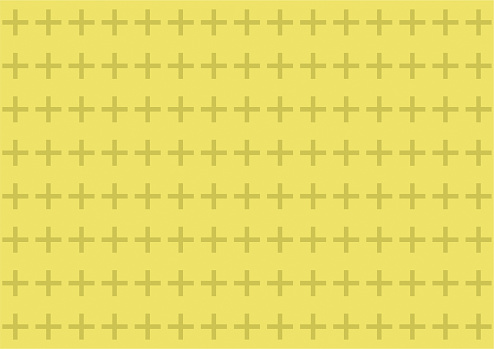 Plus sign seamless pattern background