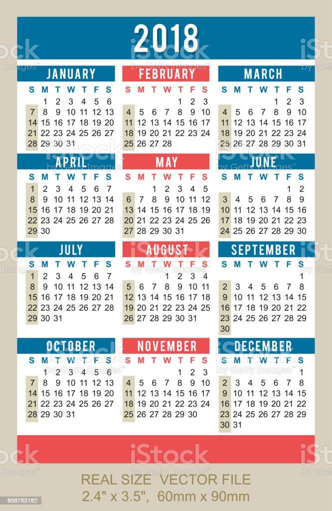 Calendrier Carte De Visite Donne Nombre Plan
