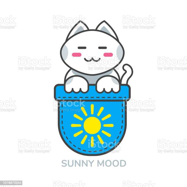 Pocket cute cat asian emoji icon for sunny mood vector id1019870344?b=1&k=6&m=1019870344&s=612x612&h=gy6l1wlshobrcn3blw2zshcjr1dq42hjpz njw9hup0=