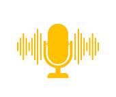 istock Podcast. Badge, icon, stamp, logo. Vector stock illustration. 1209198574
