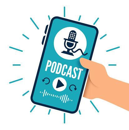 Podcast Mobile Device App Interface