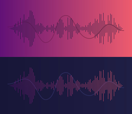 Podcasting Audio Voice Waves