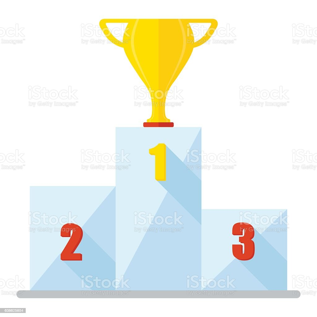 podium cup winner icon stock illustration download image now istock https www istockphoto com vector podium cup winner icon gm638625854 114617119
