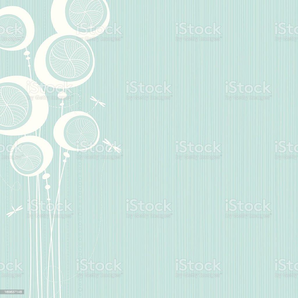Pods vector art illustration