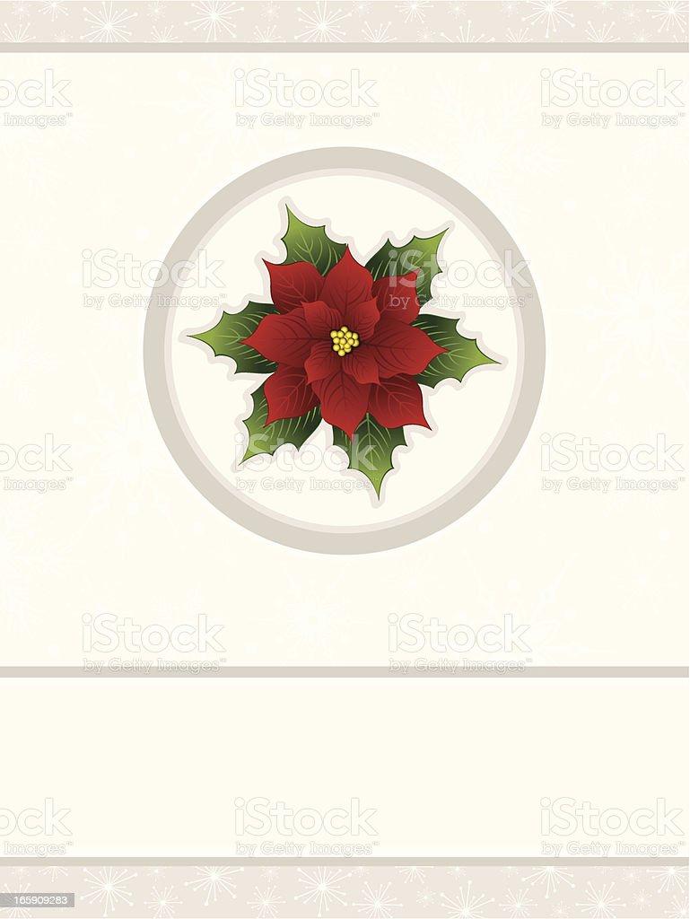 Poinsettia royalty-free stock vector art