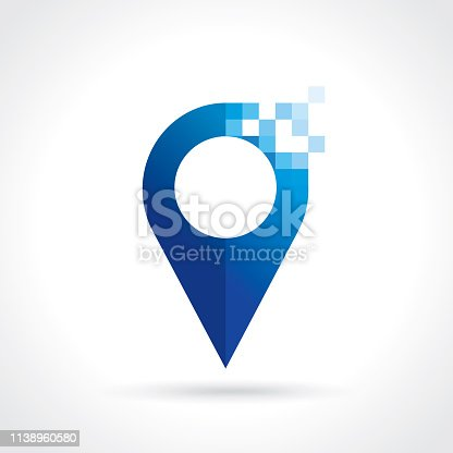 point icon. Vector map pointer concept