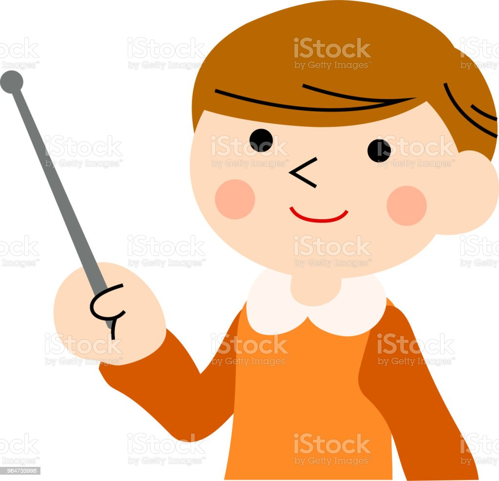 Pointing boy with pigtails 3 royalty-free pointing boy with pigtails 3 stock vector art & more images of adolescence
