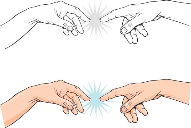 Pointing classical finger vector illustration vector art illustration