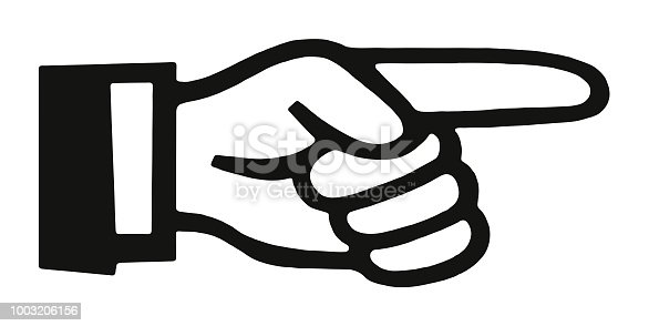 istock Pointing Finger 1003206156