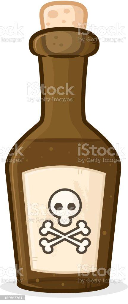 Poison Bottle royalty-free stock vector art