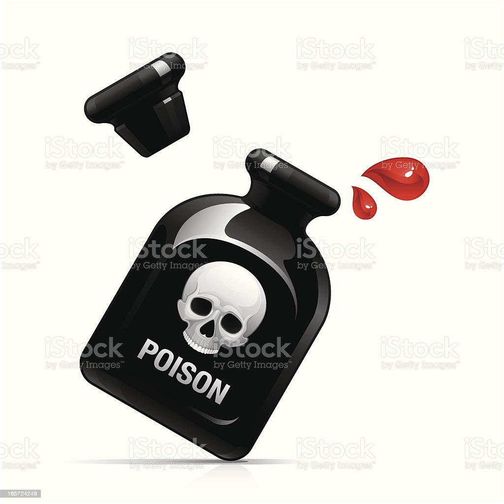Poison drops royalty-free poison drops stock vector art & more images of bottle