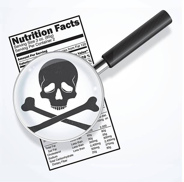 ilustraciones, imágenes clip art, dibujos animados e iconos de stock de veneno en nutrición hechos - comida chatarra