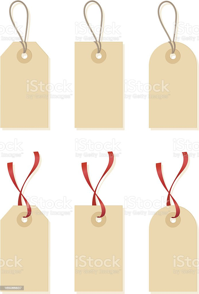 Gift Tags - incl. jpeg vector art illustration