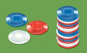 Poker Chips, Gambling - Game Equipment