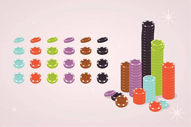 poker chips The poker chips are individually grouped - make your own pile or use them separately. Related collections: gambling chip stock illustrations