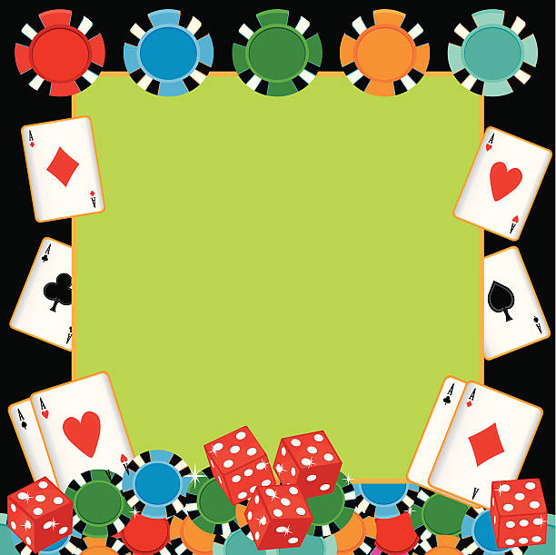 poker party gambling invitation - bachelor party stock illustrations, clip art, cartoons, & icons