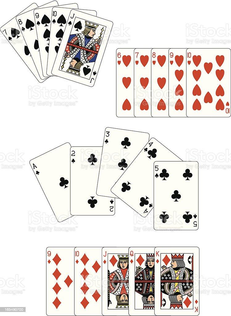 ストレートフラッシュポーカー -...