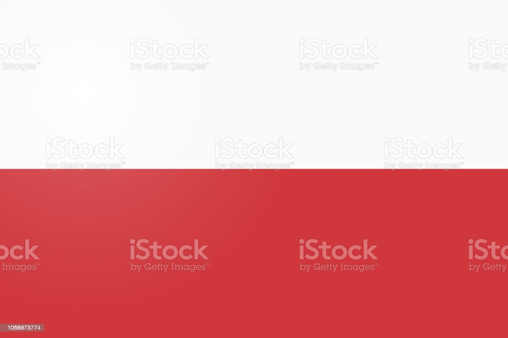 Poland Flag. Official colors and proportion correctly. National Flag of Poland. Poland Flag vector illustration. Poland Flag vector background. vector art illustration