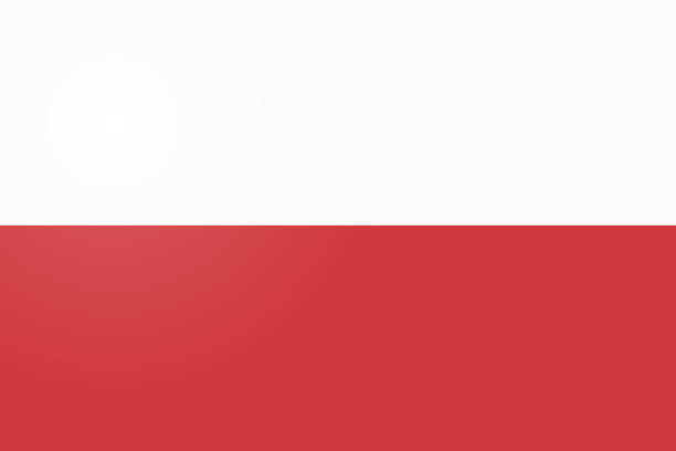 poland flag. official colors and proportion correctly. national flag of poland. poland flag vector illustration. poland flag vector background. - polish flag stock illustrations, clip art, cartoons, & icons