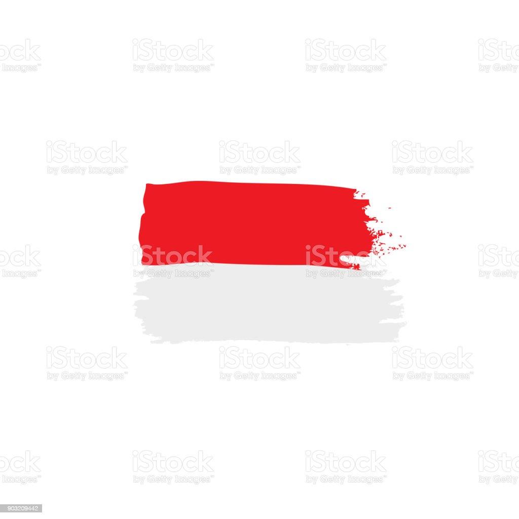 Polen Flagge, Vektor-illustration – Vektorgrafik