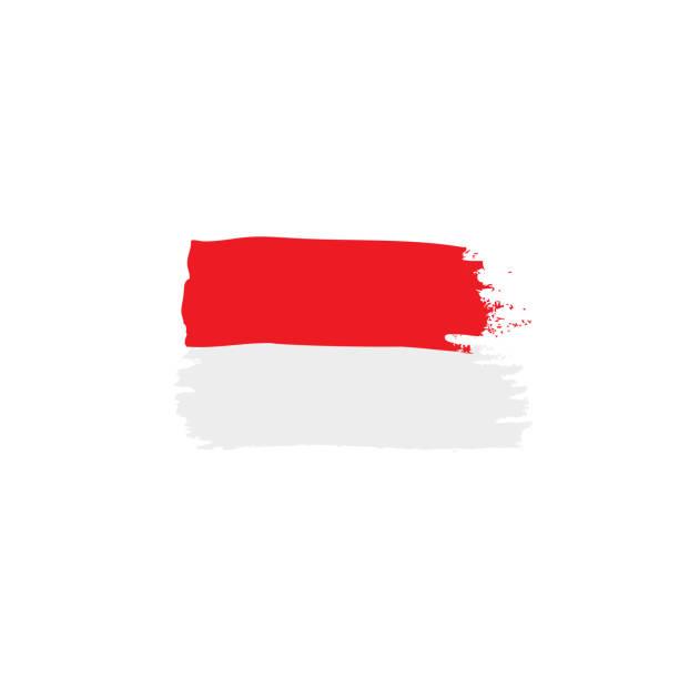 polen flagge, vektor-illustration - flagge polen stock-grafiken, -clipart, -cartoons und -symbole