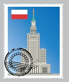 Vector Poland Stamp