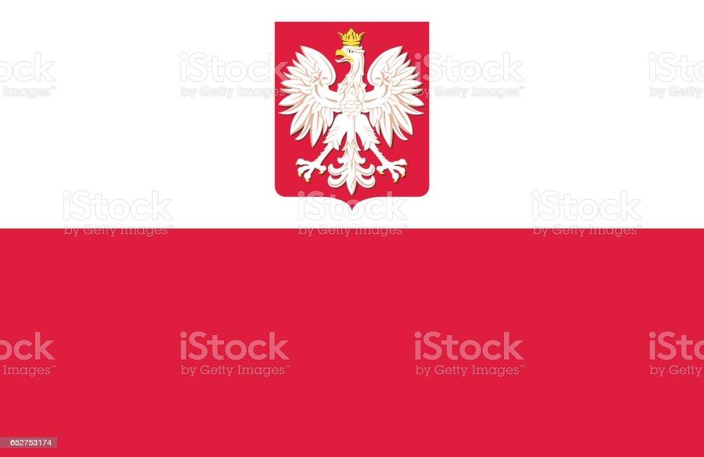 Polonia - ilustración de arte vectorial